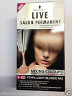 3 x Packs of Schwarzkopf Live Permanent Hair Colour Dye 9-52 Pearl Light