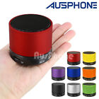Portable Mini Bluetooth Wireless AUX TF Stereo Music Speaker HiFi Speakerphone