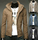 FASHON 2015 NEW MENS CASUAL WINTER FALL JACKET SPORTS COAT OUTWEAR SLIM FIT TOPS