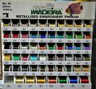 Madeira Metallic 40 Machine Embroidery Thread 200m Spools, Metallised Thread