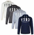 Firetrap New Men's Hooded Fleece Sweatshirt Hoodie Slim Fit Oswyth Top