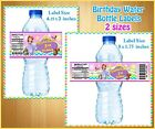 20  Custom SOFIA THE FIRST  Water Bottle Labels  Birthday Party Favor Glossy
