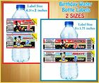 20 Mickey Mouse Baby WATER BOTTLE LABELS Birthday Party Favor Glossy Waterproof
