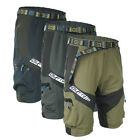 Breathable Leisure Men Cycling Mountain Bike Bicycle Shorts Half Pants Camping