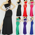 HOT 2015 Homecoming Sexy Long Beaded Mermaid Bridesmaid Dresses Gown Prom Dress