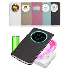 Quick Circle Case Cover With Qi Wireless Charging+NFC For LG G3 D855 D850