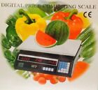 DIGITAL ELECTRONIC PRICE COMPUTING WEIGHING FRUITS VEGGIE SCALE 30KG HOME/SHOP