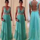 Lady V Nevk Formal Prom Ball Party Evening Cocktail Dress Bridesmaid Dresses F71