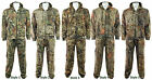 6B Camouflage Hunting / Fishing Camo Suit - Zip Hoody + Trousers M-XXL