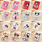3D Cartoon Disney Mickey & Minnie Leather Smart Case Cover For iPad mini 1/2/3