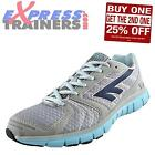 Hi Tec Womens Haraka Running Shoes Fitness Gym Workout Trainers Grey *AUTHENTIC*