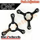 CNC Fork Preload Adjusters 17mm Hex for Ducati Ducati Street Fighter S 2010+