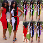 Womens Bodycon Cocktail Club Summer Evening Party Bandage Tunic Slim Sexy Dress