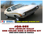 QA-965 1972 AMC - AMERICAN MOTORS - JAVELIN - SIDE C-STRIPE DECAL - LICENSED