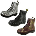 Dr. Martens Womens Spike Studded Boot Shoe