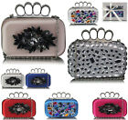 Bridal Ladies Women's Night Out Evening Wedding Clutch Bag Pram Ball Diamante