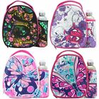 Smash Girls Junior Lunch Bag & 500ml Bottle Set - Kids School Lunchbox NEW GIFT