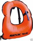 SEAC SUB - Snorkel Vest Inflatable Snorkelling Jacket kids or adult PACKS FLAT