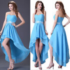PLUS SIZE Short High low Prom Semi Formal Party Gowns Evening Homecoming Dresses