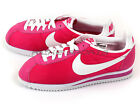 Nike Wmns Classic Cortez Nylon Fireberry/White Retro Casual Shoes 457226-616