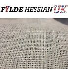 Natural Frame Rug Backing Jute Hessian Upholstery Fabric - All Sizes