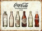COCA COLA VINTAGE Nostalgic Retro Bottles Evolution CCV01 POSTER ART PRINT A4/A3 £3.25  on eBay