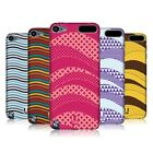 HEAD CASE DESIGNS WAVE PATTERNS HARD BACK CASE FOR APPLE iPOD TOUCH 5G 5TH GEN