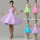Masquerade Short Mini Prom Evening Party Bridesmaid Wedding Quinceanera Dresses