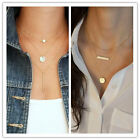 Fashion Jewelry 3-Layer Necklace Chic Hamsa Hand Infinity Charms Gold Silver