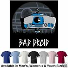 Star Wars R2-D2 Bad Droid T-Shirt Avail in 7 Colors in 3 Styles Bad Robot Spoof
