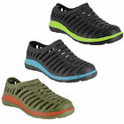 Mens Clogs Lightweight Slip On Beach Mules Shoes UK Sizes 6 to 11 - 3 Colours
