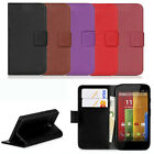 1PC Leather Wallet Pouch Flip Case Cover For MOTOROLA Moto G Classic Gayly