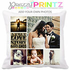 ❤ Personalised Photo Gift Collage Cushion Christmas Wedding Anniversary Gift ❤