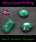 Gaia faceted Healing Emeralds - Memory improving anti-aging, may birthstone gif