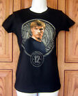 The Hunger Games Districit 12 Peeta Black T Shirt Top Licensed NECA NWOT Q