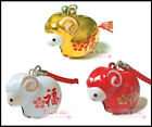 Chinese Zodiac Sign YEAR OF SHEEP 2015 Metal Charm Strap for Phone, Bag 1.2 in