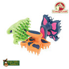 Cottage Craft Butterfly Curry Comb (Horse Grooming) (R243)