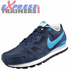 Nike Mens Air Waffle Retro Running Trainers Navy Blue New 2015 *AUTHENTIC*