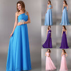 UK CLEARANCE! Long Classic Evening Gowns Wedding Bridesmaid Prom Party Dresses