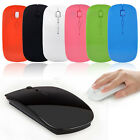 Ultra Thin USB Optical Wireless Mouse 2.4G Receiver Super Slim Mouse For Compute