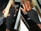 sexy slim women bandage dot backless sleeveless summer casual bodycon dress