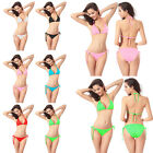 EW Fashion Sexy Hot Women Bikini Set Push-up Triangle Swimwear Bathing Suit  UKM