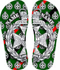 Royal Green Jackets Crested Flip Flops
