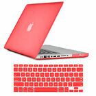 """2IN1 Hard Rubberized Cover Case Shell Fr  Macbook Air/Pro/Retina 11 13"""" 15"""" inch"""