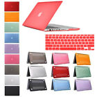 "2IN1 Hard Rubberized Cover Case Shell Fr  Macbook Air/Pro/Retina 11 13"" 15"" inch"