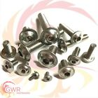 M10 A2 Stainless Flanged Socket Button Head Screws - 10mm Flange Bolt Allen Key
