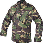 British Tropical Woodland BDU DPM Camouflage Shirt Military Surplus (Medium)