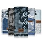 HEAD CASE DESIGNS JEANS AND LACES HARD BACK CASE FOR SONY XPERIA P LT22i
