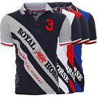Geographical Norway KOSSI SS Herren Poloshirt Polo Shirt Royal Horse