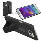 For Samsung Galaxy S6/S6 Edge Belt Clip Holster Combo Case Stand Hard Cover